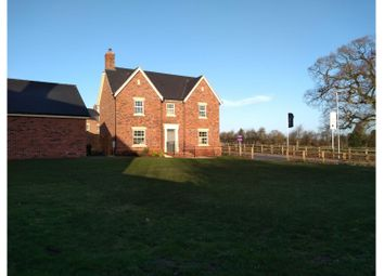 Thumbnail 4 bed detached house for sale in Steeple View Lane, Appleby Magna