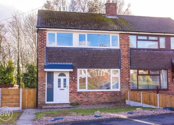 Thumbnail 3 bed semi-detached house to rent in Rixton Drive, Tyldesley, Manchester