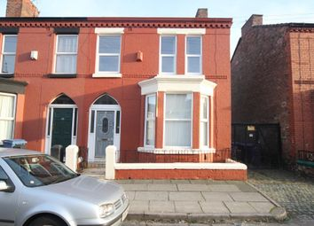 Thumbnail 3 bed end terrace house to rent in Barrington Road, Wavertree, Liverpool, Merseyside