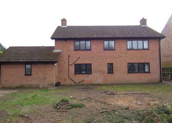 Thumbnail 4 bed detached house for sale in Barton Road, Wisbech