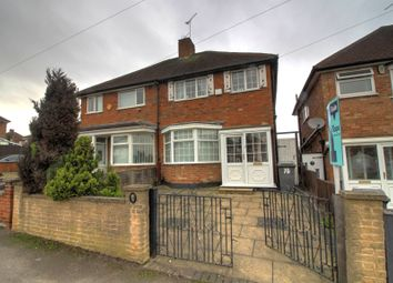 Thumbnail 3 bed semi-detached house for sale in Colchester Road, Leicester