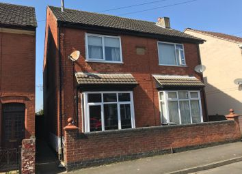 Thumbnail 3 bedroom semi-detached house for sale in Crescent Road, Hugglescote, Leicestershire