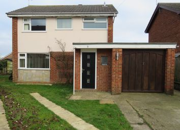 Thumbnail 3 bedroom detached house for sale in Andrew Way, Carlton Colville, Lowestoft