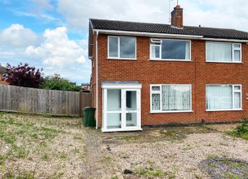 Thumbnail 3 bed semi-detached house to rent in Severn Road, Oadby, Leicester