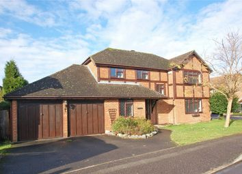 Thumbnail 4 bed detached house to rent in Netherhouse Moor, Church Crookham, Fleet