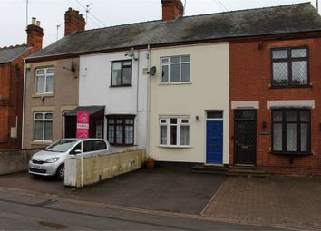 Thumbnail 2 bed terraced house for sale in Leicester Road, Broughton Astley, Leicester