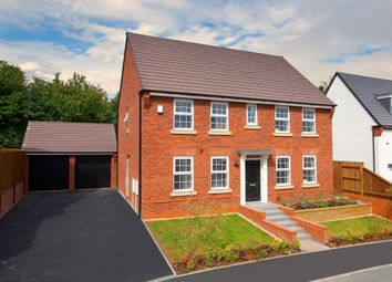 """Thumbnail 4 bedroom detached house for sale in """"Chelworth"""" at Morda, Oswestry"""