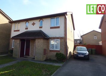 Thumbnail 2 bed semi-detached house to rent in Wheatlands, Fareham