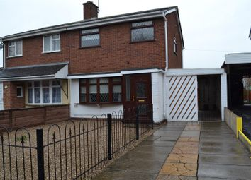 Thumbnail 3 bed semi-detached house for sale in Toulmin Drive, Swadlincote