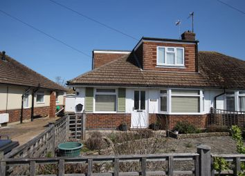 Thumbnail 3 bed semi-detached bungalow for sale in Gorringe Valley Road, Willingdon, Eastbourne