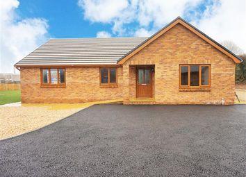 Thumbnail 3 bed detached bungalow for sale in Bryngwyddil, Bancffosfelen, Llanelli