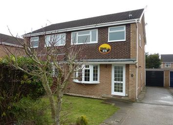 Thumbnail 3 bed semi-detached house to rent in Priory Close, The Danes, Chepstow