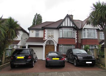 Thumbnail 5 bed semi-detached house for sale in Queenscourt, Wembley