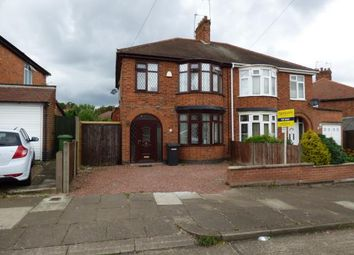 Thumbnail 3 bed semi-detached house for sale in Parvian Road, Leicester, Leicestershire