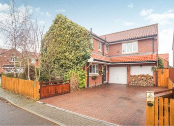 Thumbnail 5 bed detached house for sale in Home Farm Close, Laughterton