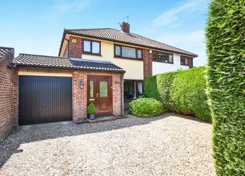 Thumbnail 3 bed link-detached house for sale in Reepham Road, Hellesdon, Norwich