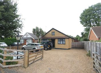 Thumbnail 4 bed detached bungalow for sale in Cadbury Road, Sunbury-On-Thames, Surrey