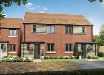 """Thumbnail 3 bed semi-detached house for sale in """"The Hanbury"""" at Maldive Road, Basingstoke"""