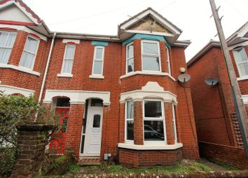 Thumbnail 4 bedroom semi-detached house for sale in Hazeleigh Avenue, Southampton