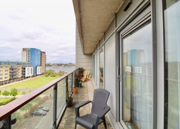 Thumbnail 2 bed flat for sale in Caldey Island House, Ferry Court, Cardiff Bay