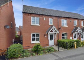 Thumbnail 3 bed property for sale in Bosworth Road, Measham, Swadlincote