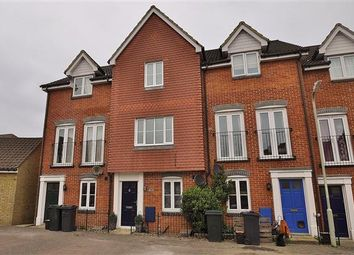 Thumbnail 3 bed terraced house for sale in Alderney Way, Kennington, Ashford