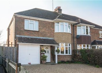 Thumbnail 4 bedroom semi-detached house for sale in Horley, Surrey