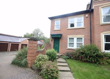 Thumbnail 3 bed town house for sale in Garden Court, Darlington, Co. Durham