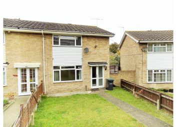 Thumbnail 2 bedroom end terrace house for sale in Lorton Close, Gravesend