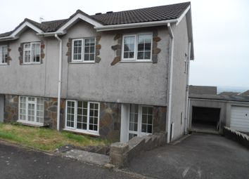 Thumbnail 3 bed semi-detached house to rent in Ty Gwyn Drive, Brackla