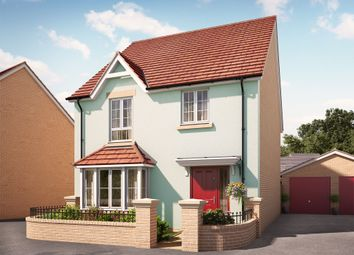 "Thumbnail 4 bed detached house for sale in ""The Woolacombe"" at Swallow Field, Roundswell, Barnstaple"