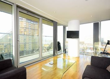 Thumbnail 1 bed flat for sale in Landmark West Tower, Canary Wharf