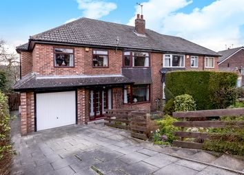 Thumbnail 5 bed semi-detached house for sale in Moseley Wood Avenue, Leeds