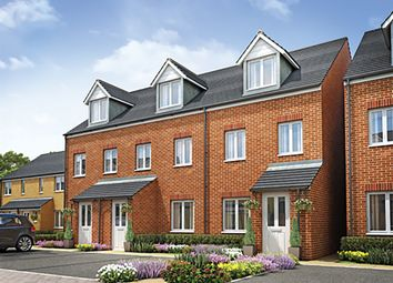 "Thumbnail 3 bedroom terraced house for sale in ""The Souter "" at Mount Pleasant, Framlingham, Woodbridge"