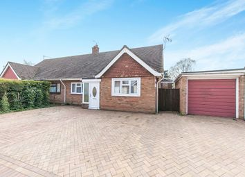 Thumbnail 2 bedroom semi-detached bungalow for sale in Dorchester Road, Ipswich