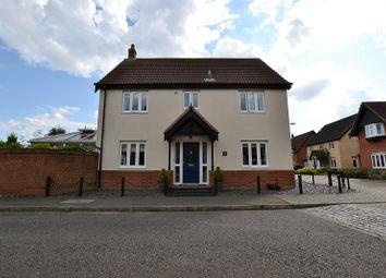 Thumbnail 4 bedroom detached house for sale in Rowan Drive, Dereham, Norfolk.