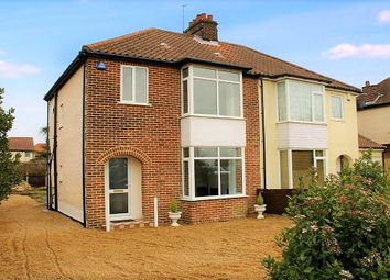 Thumbnail 3 bed semi-detached house for sale in Cromer Road, Norwich