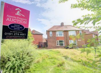 Thumbnail 3 bedroom semi-detached house for sale in Middle Garth, Cowgate, Newcastle Upon Tyne