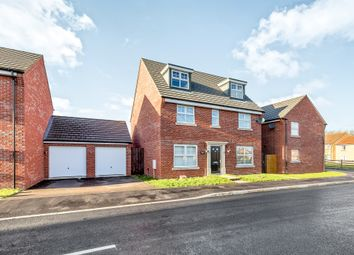 Thumbnail 5 bed detached house for sale in Clarendon Close, Corby