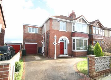 Thumbnail 4 bed semi-detached house for sale in Crabgate Drive, Skellow, Doncaster