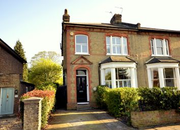 Thumbnail 4 bed semi-detached house for sale in Chestnut Grove, New Malden