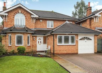 Thumbnail 4 bed detached house for sale in Landseer Drive, Macclesfield