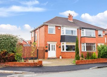 Thumbnail 3 bed semi-detached house for sale in Carlton Road, Worsley, Manchester