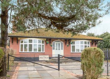 Thumbnail 3 bed detached bungalow for sale in Newcastle Road, Hough, Crewe