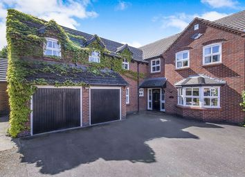 Thumbnail 5 bed detached house for sale in Hill Close, Peckleton, Leicester