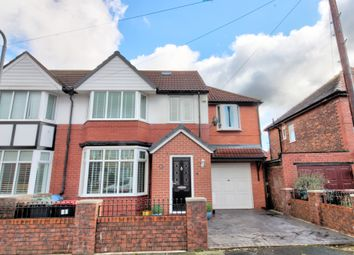 Thumbnail 5 bed semi-detached house for sale in Ferndene Road, Prestwich, Manchester
