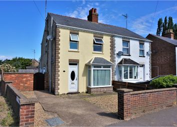 Thumbnail 3 bed semi-detached house for sale in Norwich Road, Wisbech
