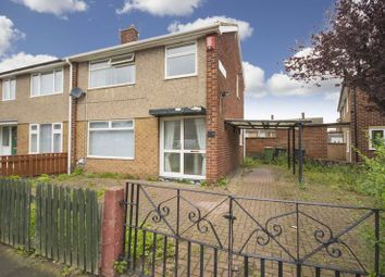 Thumbnail 3 bed semi-detached house for sale in Danby Road, Eston, Middlesbrough