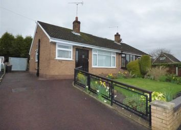 Thumbnail 2 bed semi-detached bungalow for sale in Woodgate Avenue, Church Lawton, Stoke-On-Trent
