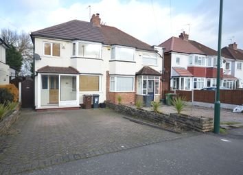 Thumbnail 3 bed semi-detached house to rent in Pierce Avenue, Solihull, West Midlands